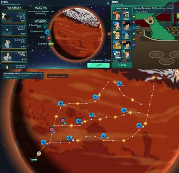 Mars LT Georgy Porgy
