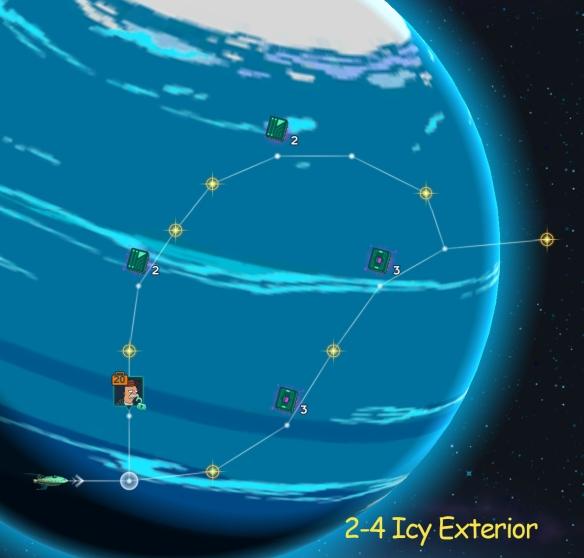 Xmas Xarol 2-4 Icy Exterior