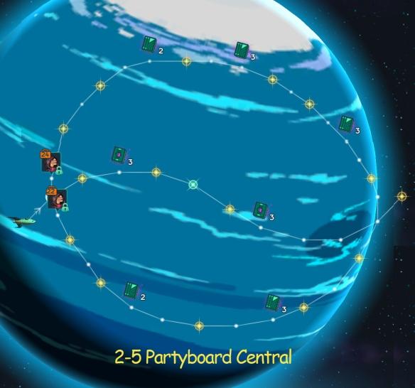 Xmas Xarol 2-5 Partyboard Central