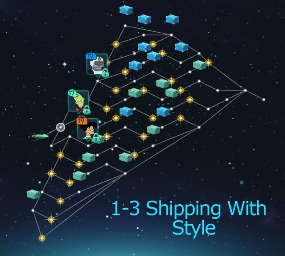 Alpha 1-3 Shipping